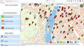 l mapa pristupnosti aj